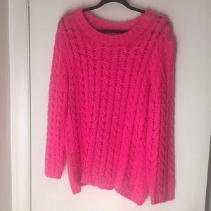 Joe Fresh Bright pink sweater